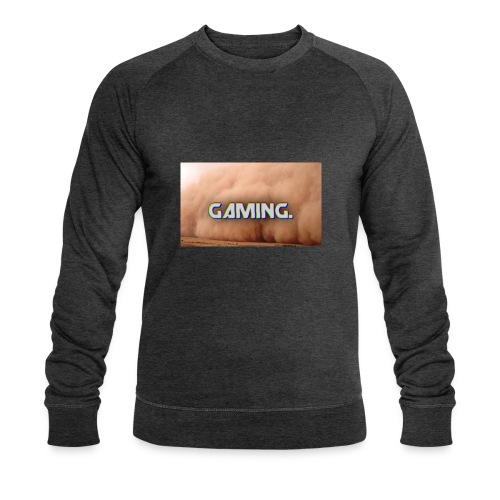 GamingDust LOGO - Men's Organic Sweatshirt by Stanley & Stella