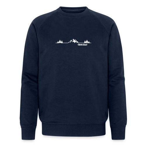 Bergpanorama - viereckad - Männer Bio-Sweatshirt