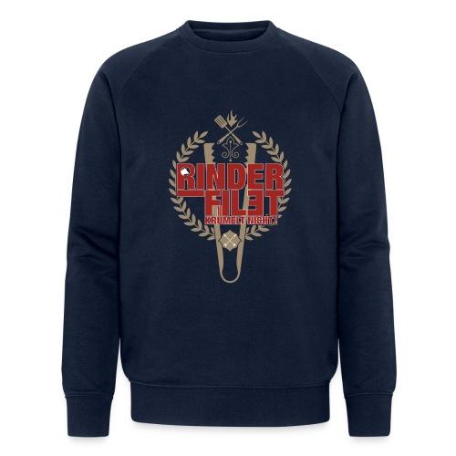 RINDERFILET KRÜMELT NICHT - Männer Bio-Sweatshirt von Stanley & Stella