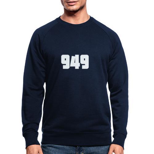 949withe - Männer Bio-Sweatshirt