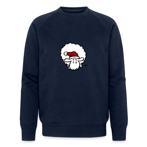 Santa Sheep (red) - Sweat-shirt bio Stanley & Stella Homme