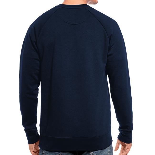 Vorschau: irgendwos hods oiwei - Männer Bio-Sweatshirt