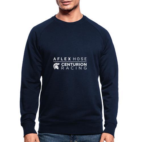 Aflex Hose Centurion Racing Logo White - Men's Organic Sweatshirt