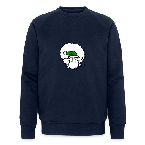 Santa Sheep (green) - Sweat-shirt bio Stanley & Stella Homme