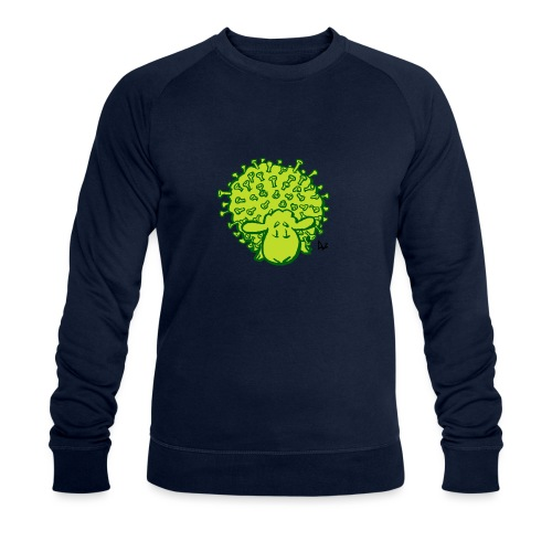Virus sheep - Men's Organic Sweatshirt
