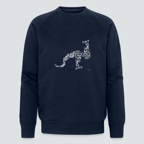 Känguru png - Männer Bio-Sweatshirt