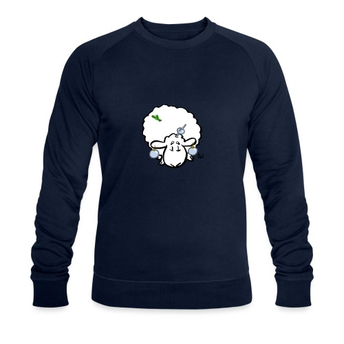 Christmas Tree Sheep - Men's Organic Sweatshirt
