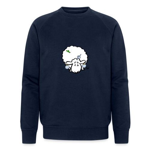 Juletre Sau - Økologisk sweatshirt for menn