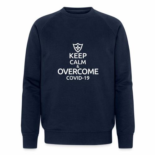 Keep calm and overcome - Ekologiczna bluza męska
