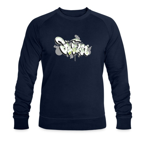 Mesk 2Wear graffiti style 7up ver02 - Økologisk Stanley & Stella sweatshirt til herrer