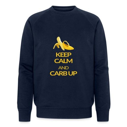 KEEP CALM and CARB UP - Männer Bio-Sweatshirt von Stanley & Stella