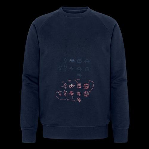 Overscoped concept logos - Men's Organic Sweatshirt by Stanley & Stella