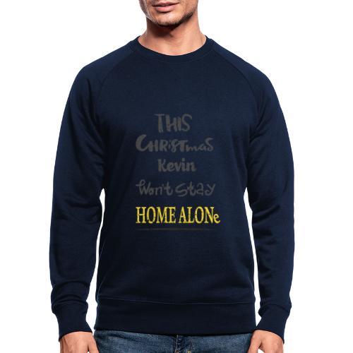Kevin McCallister Home Alone - Ekologiczna bluza męska