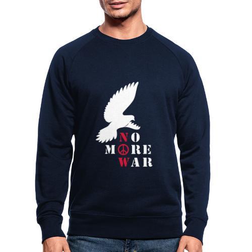 No More War Now Silhouette - Männer Bio-Sweatshirt