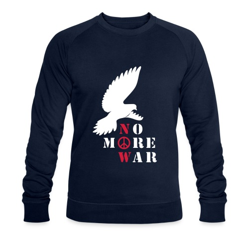 No More War Now Silhouette - Männer Bio-Sweatshirt von Stanley & Stella