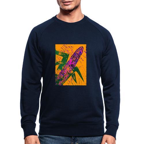 Mais violett - Männer Bio-Sweatshirt von Stanley & Stella