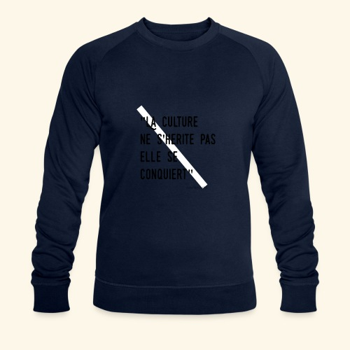 Kulture Française - Sweat-shirt bio Stanley & Stella Homme