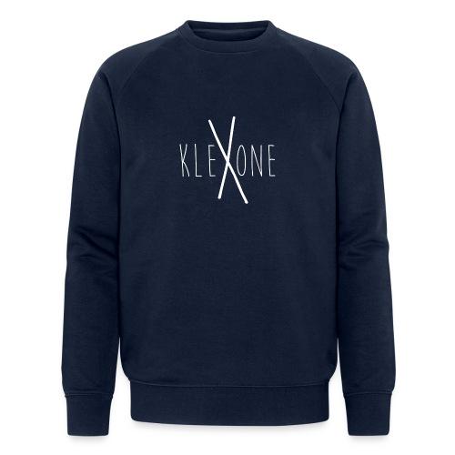 kleXone weiß png - Männer Bio-Sweatshirt
