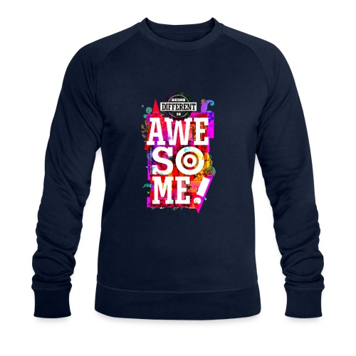 Different = Awesome - Men's Organic Sweatshirt by Stanley & Stella