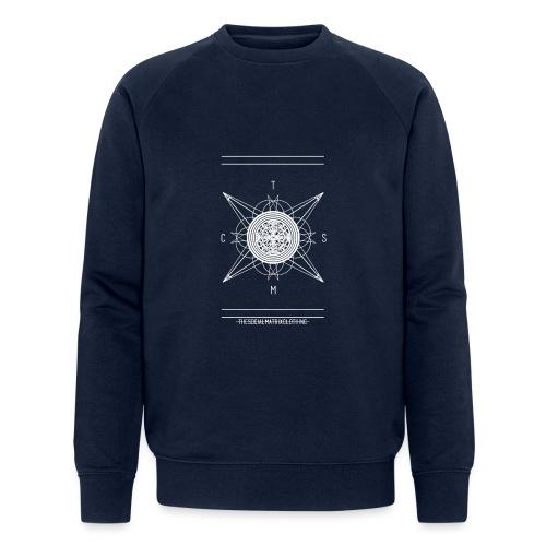 DE PIONEER [WIT] - Mannen bio sweatshirt van Stanley & Stella