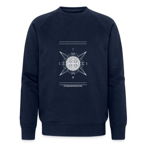 DE PIONEER [WIT] - Mannen bio sweatshirt