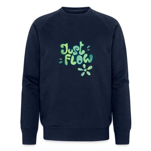 Just flow Liquid Lettering - Männer Bio-Sweatshirt von Stanley & Stella