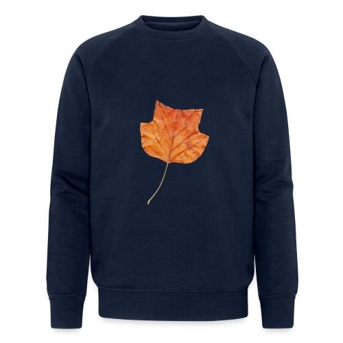Herbst-Blatt - Männer Bio-Sweatshirt von Stanley & Stella