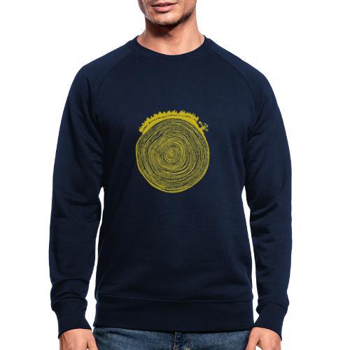 Kattoo Gelb - Männer Bio-Sweatshirt