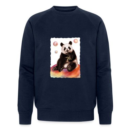 Panda World - Felpa ecologica da uomo di Stanley & Stella