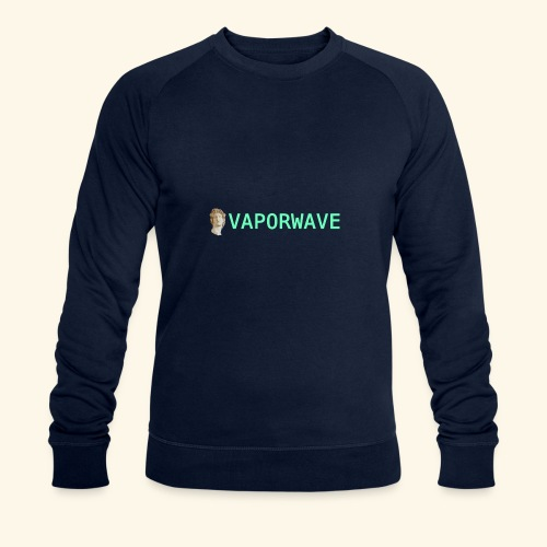 Roman Statue Vaporwave - Sweat-shirt bio