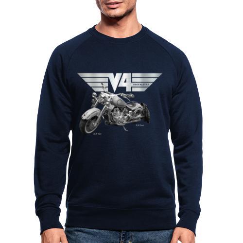 Royal Star silver Wings - Männer Bio-Sweatshirt