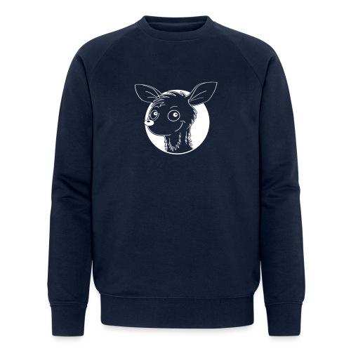 raffiniertes Reh - Männer Bio-Sweatshirt von Stanley & Stella
