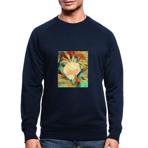 Flower - Männer Bio-Sweatshirt