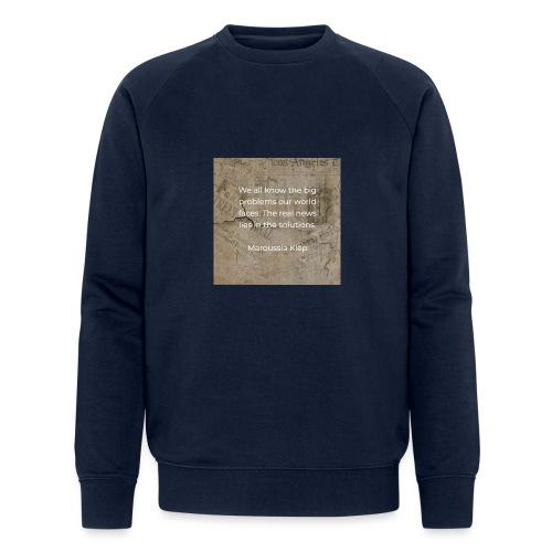 The real news - Männer Bio-Sweatshirt von Stanley & Stella