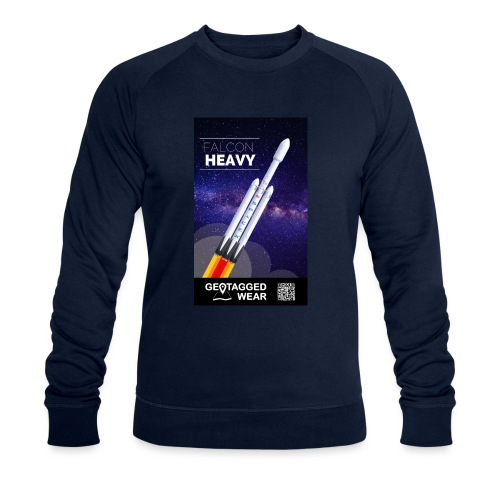 Falcon Heavy - Männer Bio-Sweatshirt von Stanley & Stella
