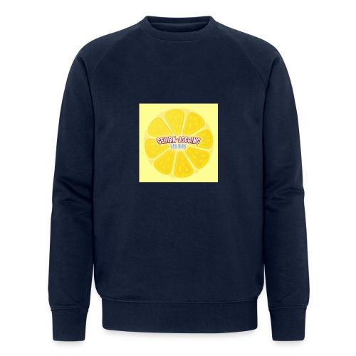 zitronetextur - Männer Bio-Sweatshirt von Stanley & Stella