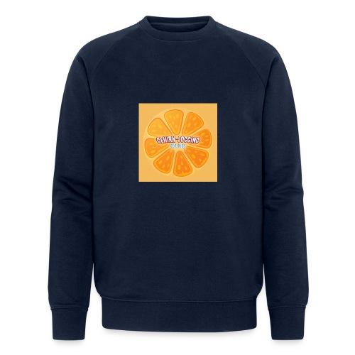 orangetextur - Männer Bio-Sweatshirt von Stanley & Stella