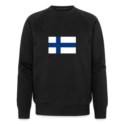 800pxflag of finlandsvg - Miesten luomucollegepaita