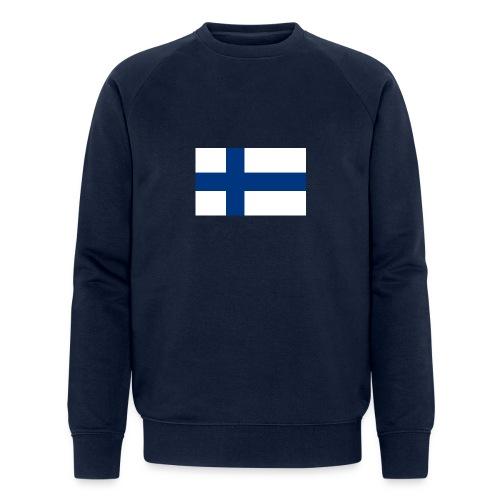 800pxflag of finlandsvg - Stanley & Stellan miesten luomucollegepaita