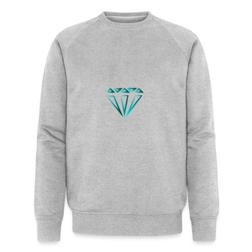 diamante - Felpa ecologica da uomo