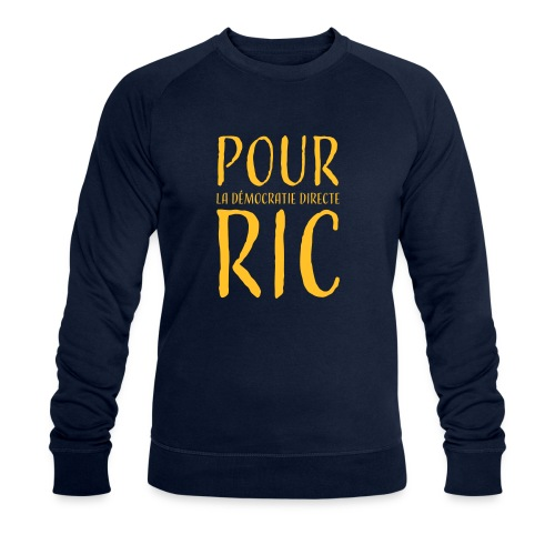 Pour une démocratie directe RIC, gilets jaunes - Sweat-shirt bio Stanley & Stella Homme