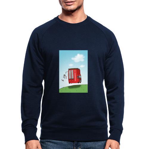 Feuerwehrwagen - Männer Bio-Sweatshirt