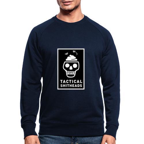 Tacshit Shitheadskull - Männer Bio-Sweatshirt