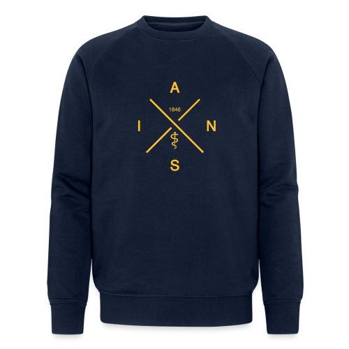 AINS Cross - Männer Bio-Sweatshirt