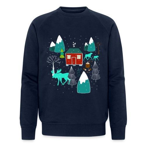 Weihnachten Elch I Geschenk Winterstimmung - Männer Bio-Sweatshirt von Stanley & Stella