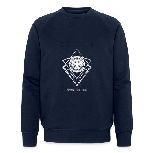 VISION [WHITE] - Mannen bio sweatshirt