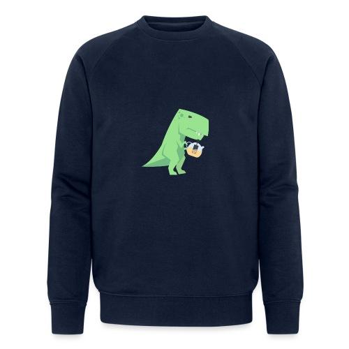 Tea-Saurus - Männer Bio-Sweatshirt von Stanley & Stella