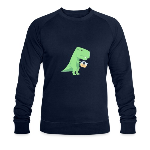 Tea-Saurus - Männer Bio-Sweatshirt