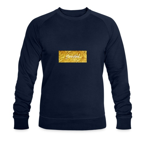 Scripted. Box Logo - Men's Organic Sweatshirt by Stanley & Stella