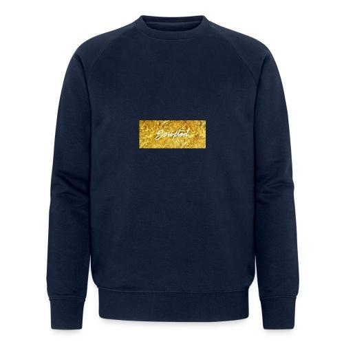 Scripted. Box Logo - Men's Organic Sweatshirt